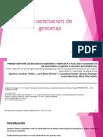 DIAPOSITIVAS Seminario 1 (Secuenciación de Genomas)