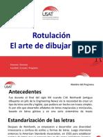 Clase 06 Rotulacion.ppt