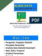 Statistik Kesehatan- Analisis Data Statistik Deskriptif 1