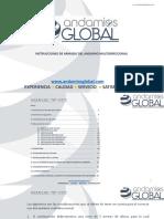 Manual de Uso Andamio Multidireccional