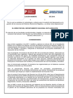 Decreto ley 416 de 2018 - SGR