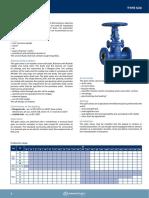 Armatury Types332 Gatevalve ASME