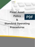 Assetservices Fixedassetpolicyandprocedure Sample