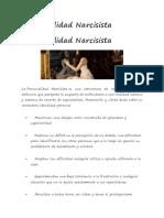 Personalidad Narcisista