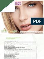 Aloe Facial Formulas - Pcfffacial002