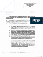 Pak IAEA Letter
