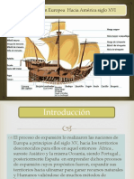 Expansión europea por Centroamérica