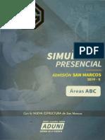 2° Simulacro Presencial [UNMSM 2019-II].pdf