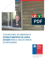 Plan Regional Emergencia ELEAM SENAMA