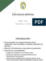 Estructura atómica (1)
