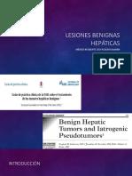 LESIONES BENIGNAS HEPÁTICAS