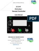 Kirloskar KG645 - User manual for genset controller.pdf