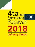 Fotomaraton Popayán 2018