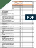 Plantilla Check List ISO 9001