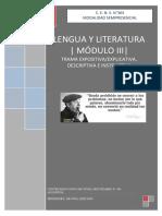 CENS 364 MOD. III Lengua y literatura  - TRAMA EXPOS. DESCRIP E INSTRUCTIVA docx.docx