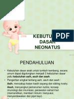 Kebutuhan Dasar Neonatus