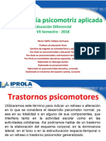 16. trastornos psicomotores