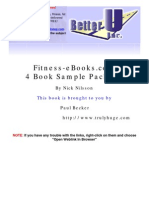 4 Fitness eBooks