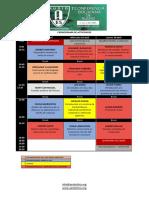 Cronograma de Actividades Aes Bolivia