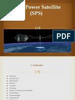 Solar Power Satellite-Abstract