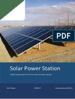 10mw solar powerplant