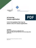 AFSL Sample Application Aug 2010