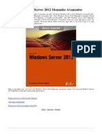 8441533202 Windows Server 2012 Manuales Avanzados