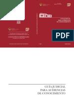Guía Judicial para audiencias de conocimiento.pdf