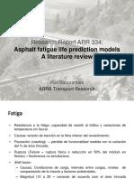 ARR 334 Fatigue Models