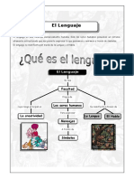 I Bim - LENG. - 5to. Año - Guía 4 - El Lenguaje