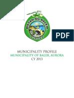 MunicipalityOfBaler Profile 2013