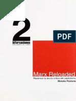 Marx Reloaded. Repensar la teoría crítica del capitalismo - Moishe Postone