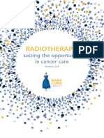 Radiotherapy Seizing the Opportunity in Cancer Care