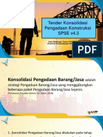 6. Tender Konsolidasi Konstruksi 4.3