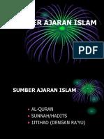 Pai 3 Sumber Ajaran Islam