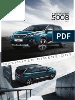 5008 SUV P87 Brochure