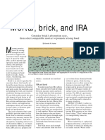 Concrete Construction Article PDF_ Mortar, Brick, And IRA