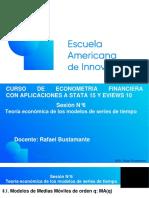 EAI Econometría Financiera. Sesión 6