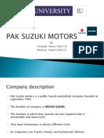 Pak Suzuki Motor