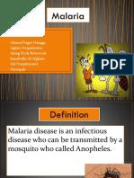 Bahasa Inggris Malaria