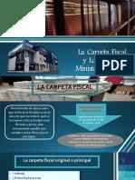 Carpeta Fiscal y Actos Del Ministerio Publico VOLUNTARIADO