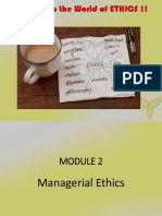 BE Managerial Ethics