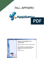 Install Appserv (1)