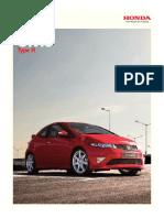 Civic Type-R Brochure
