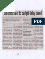 Daily Tribune, Apr. 22, 2091, Economic cost to budget delay bared.pdf