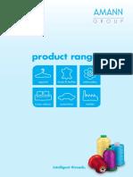 Amann Product Range
