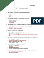 Cpl - Radiotelephony