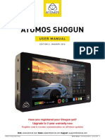 Atomos Shogun User Manual