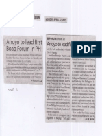 Manila Times, Apr. 22, 2019, Arroyo to lead first Boao Forum in PH.pdf