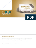 Reward Booklet ( Gold and GreenCard )